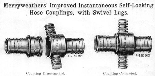 Merryweather instantaneous couplings