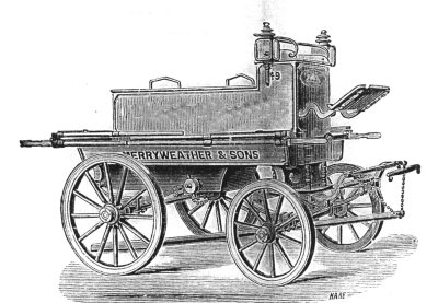 Merryweather manual fire engine